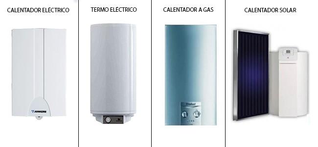 calentadores solares termos de gas precios
