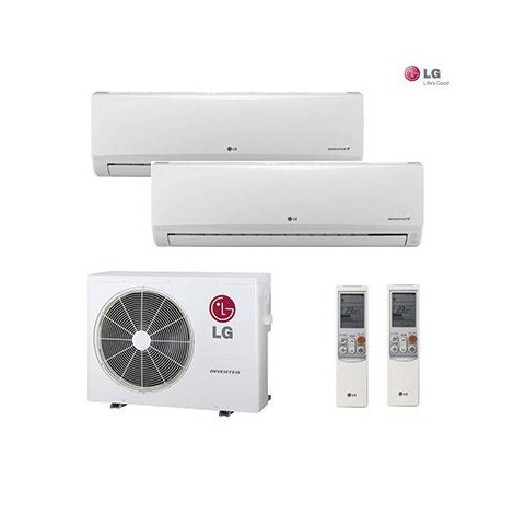 AIRE ACONDICIONADO 2X1 MULTI SPLIT LG 2ML99
