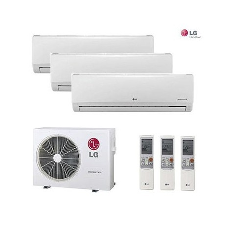 AIRE ACONDICIONADO 2X1 MULTI SPLIT LG 3ML9912