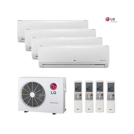 AIRE ACONDICIONADO 4X1 MULTI SPLIT LG 4ML77712