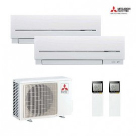AIRE ACONDICIONADO 2X1 MULTISPLIT MITSUBISHI ELECTRIC MXZ-2D53VA2 + MSZ-SF35VE2 + MSZ-SF35VE2