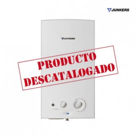 CALENTADOR DE AGUA GAS ATMOSFÉRICO JUNKERS MINIMAXX WR 11 2KB