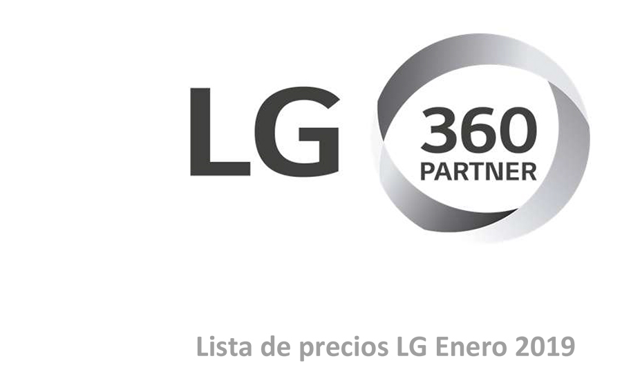 Tarifa LG 2019