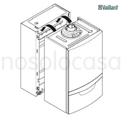 Precio de Caldera a gas de condesación Vaillant EcoTec Plus VMI 346/5-5 + Actostor VIH CL20